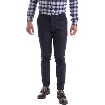 Odjeća Muškarci  Chino hlačei hlače mrkva kroja Sei3sei 2716 Ljubičasta