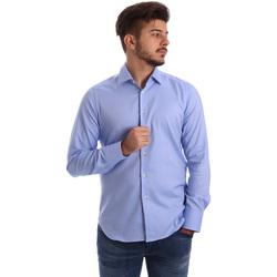 Odjeća Muškarci  Košulje dugih rukava Gmf 962103/04 Plava