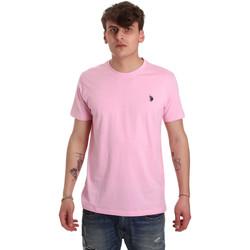 Odjeća Muškarci  Majice kratkih rukava U.S Polo Assn. 57084 49351 Ružičasta