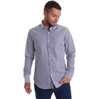 Odjeća Muškarci  Košulje dugih rukava Gmf 971264/03 Plava