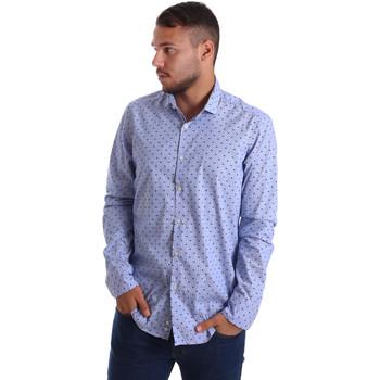 Odjeća Muškarci  Košulje dugih rukava Gmf 971200/04 Plava