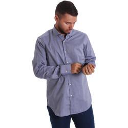 Odjeća Muškarci  Košulje dugih rukava Gmf 971134/05 Plava