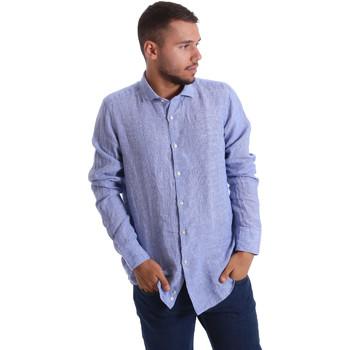 Odjeća Muškarci  Košulje dugih rukava Gmf 971314/04 Plava