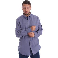 Odjeća Muškarci  Košulje dugih rukava Navigare N691010BD Plava