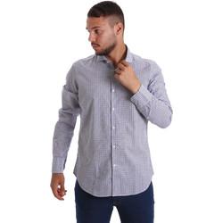 Odjeća Muškarci  Košulje dugih rukava Gmf 971184/02 Plava