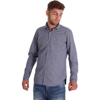 Odjeća Muškarci  Košulje dugih rukava Gmf 971192/03 Plava