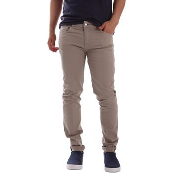 Odjeća Muškarci  Chino hlačei hlače mrkva kroja Sei3sei PZV17 7148 Bež