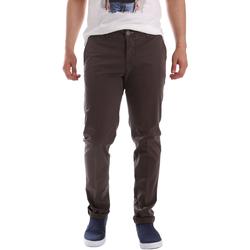 Odjeća Muškarci  Chino hlačei hlače mrkva kroja Sei3sei PZVI69 7148 Smeđa