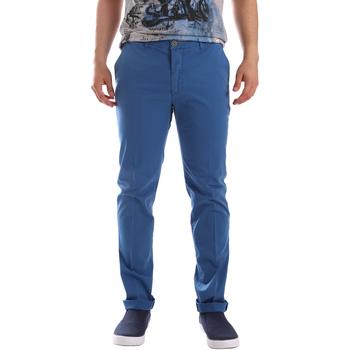 Odjeća Muškarci  Chino hlačei hlače mrkva kroja Sei3sei PZVI69 7148 Plava