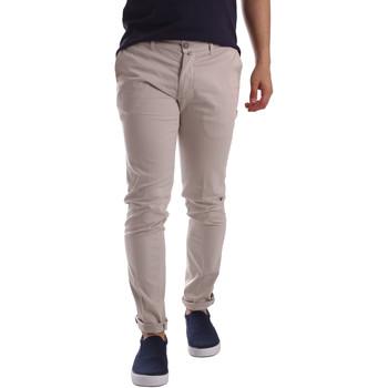 Odjeća Muškarci  Chino hlačei hlače mrkva kroja Sei3sei PZV21 7183 Bež