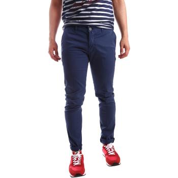 Odjeća Muškarci  Chino hlačei hlače mrkva kroja Sei3sei PZV21 7183 Plava