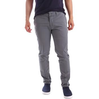 Odjeća Muškarci  Chino hlačei hlače mrkva kroja Sei3sei PZV21 7148 Siva