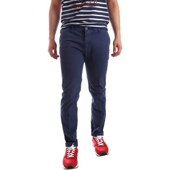 Odjeća Muškarci  Chino hlačei hlače mrkva kroja Sei3sei PZV20 71341 Plava