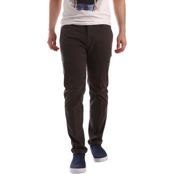 Odjeća Muškarci  Chino hlačei hlače mrkva kroja Sei3sei PZV20 71341 Smeđa
