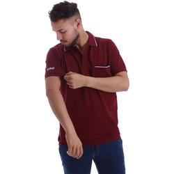 Odjeća Muškarci  Polo majice kratkih rukava Key Up 2827Q 0001 Crvena