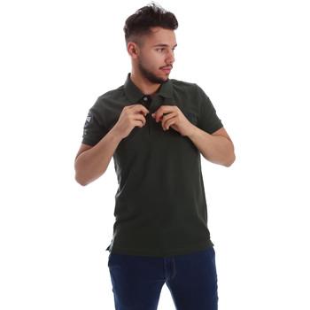 Odjeća Muškarci  Polo majice kratkih rukava Key Up 255QG 0001 Zelena