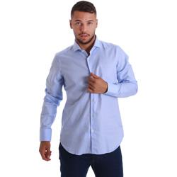 Odjeća Muškarci  Košulje dugih rukava Gmf 971103/03 Plava