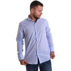 Odjeća Muškarci  Košulje dugih rukava Gmf 971101/03 Plava