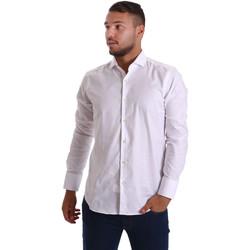 Odjeća Muškarci  Košulje dugih rukava Gmf 971103/01 Bijela