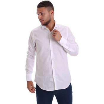 Odjeća Muškarci  Košulje dugih rukava Gmf 971111/11 Bijela