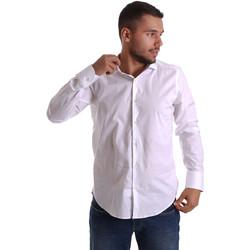 Odjeća Muškarci  Košulje dugih rukava Gmf 971250/01 Bijela