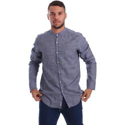 Odjeća Muškarci  Košulje dugih rukava Gmf 971139/13 Plava