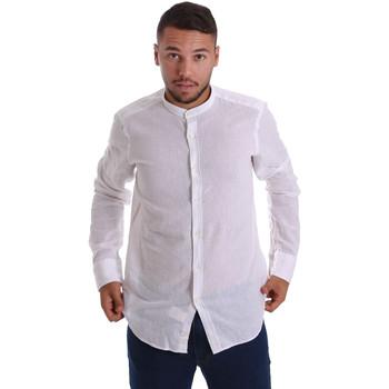 Odjeća Muškarci  Košulje dugih rukava Gmf 971306/01 Bijela