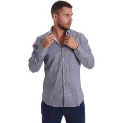 Odjeća Muškarci  Košulje dugih rukava Gmf 971185/03 Crno