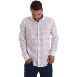 Odjeća Muškarci  Košulje dugih rukava Gmf 971200/01 Bijela