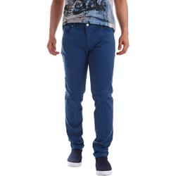 Odjeća Muškarci  Hlače s pet džepova Sei3sei PZV17 71339 Plava