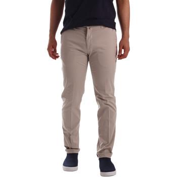 Odjeća Muškarci  Chino hlačei hlače mrkva kroja Sei3sei PZV20 7148 Bež