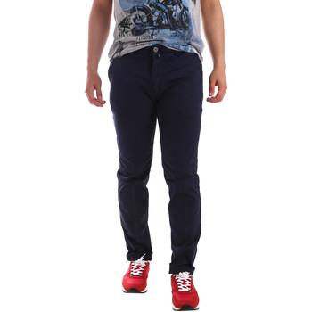 Odjeća Muškarci  Chino hlačei hlače mrkva kroja Sei3sei PZV20 7148 Plava
