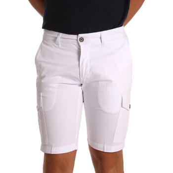 Odjeća Muškarci  Bermude i kratke hlače Sei3sei PZV130 7148 Bijela