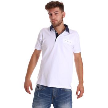 Odjeća Muškarci  Polo majice kratkih rukava Bradano 000115 Bijela