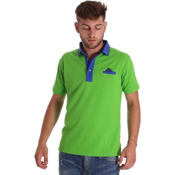 Odjeća Muškarci  Polo majice kratkih rukava Bradano 000114 Zelena