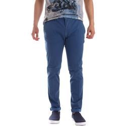 Odjeća Muškarci  Chino hlačei hlače mrkva kroja Sei3sei PZV156 71341 Plava