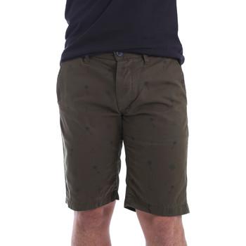 Odjeća Muškarci  Bermude i kratke hlače Ransom & Co. BRAD-P150 Zelena