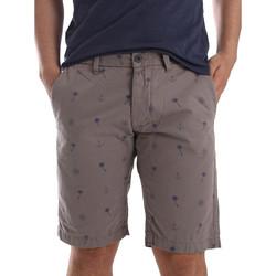 Odjeća Muškarci  Bermude i kratke hlače Ransom & Co. BRAD-P150 Siva