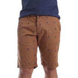 Odjeća Muškarci  Bermude i kratke hlače Ransom & Co. BRAD-P150 Smeđa