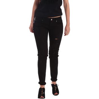 Odjeća Žene  Boyfriend traperice Gaudi 73BD24205 Crno