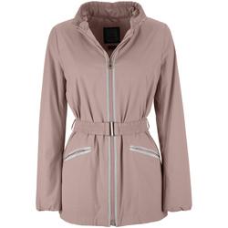 Odjeća Žene  Parke Geox W7223F T2334 Ružičasta