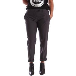 Odjeća Žene  Chino hlačei hlače mrkva kroja Gaudi 64FD20201 Siva