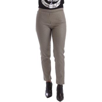 Odjeća Žene  Chino hlačei hlače mrkva kroja Gaudi 64FD20235 Crno