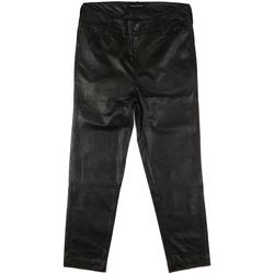 Odjeća Žene  Chino hlačei hlače mrkva kroja Fornarina BIF1I84P27900 Crno