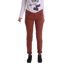 Odjeća Žene  Hlače s pet džepova Fornarina BIR1G41G28050 Smeđa