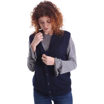 Odjeća Žene  Veste i kardigani Wool&co WO0004 Plava