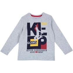 Odjeća Djeca Majice dugih rukava Chicco 09006867000000 Siva