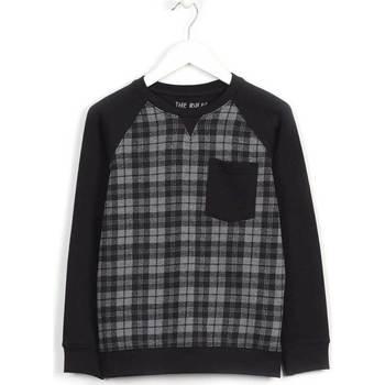 Odjeća Djeca Sportske majice Losan 623 6004AA Crno