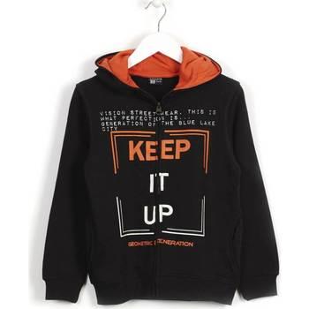 Odjeća Djeca Sportske majice Losan 623 6660AA Crno