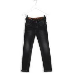 Odjeća Djeca Slim traperice Losan 623 9007AA Crno